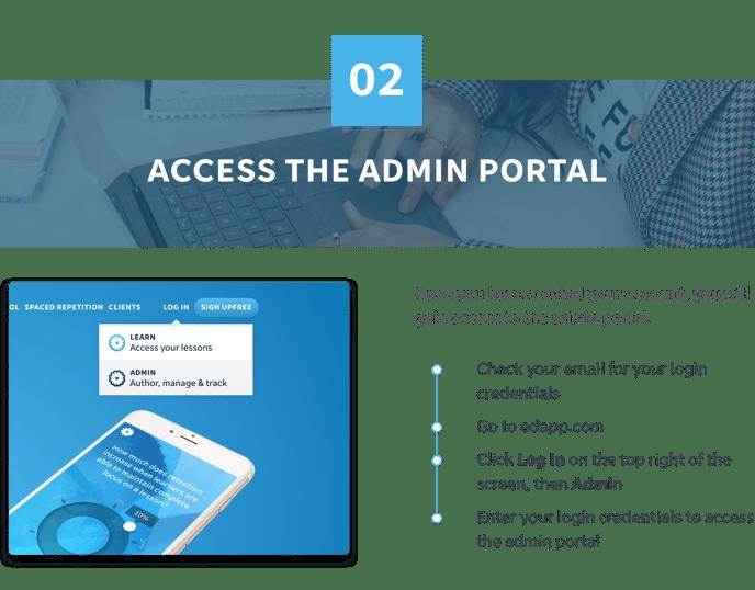 2 Access Admin Portal