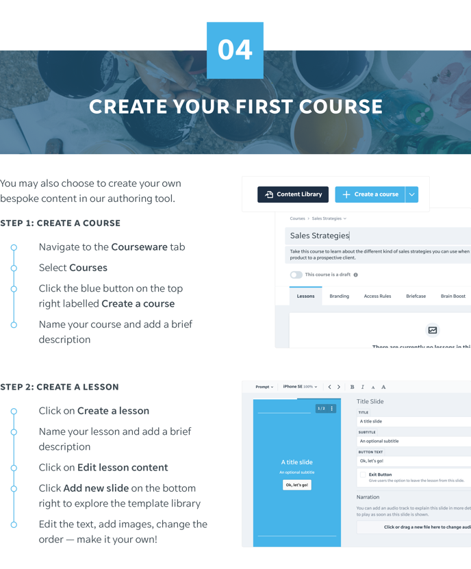 4 Create Your First Course-1